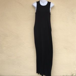 Forever 21 Maxi Black Long Len Dress